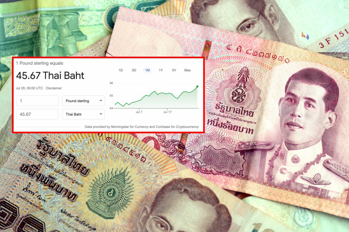 The Thai baht is now Asia's worst performing currency – but that's good news for expats
