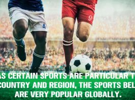 The most popular sports in the world